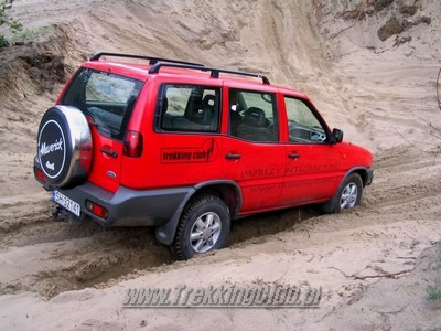 Off road na Górnym Śląsku - industrialny off road na hałdach.