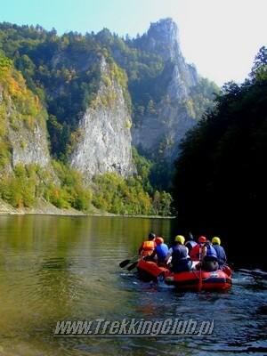 Rafting na Dunajcu. Imprezy firmowe pieniny i imprezy integracyjne tatry.