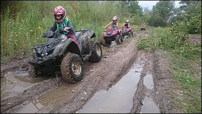 rodzinne wyprawy na quadach